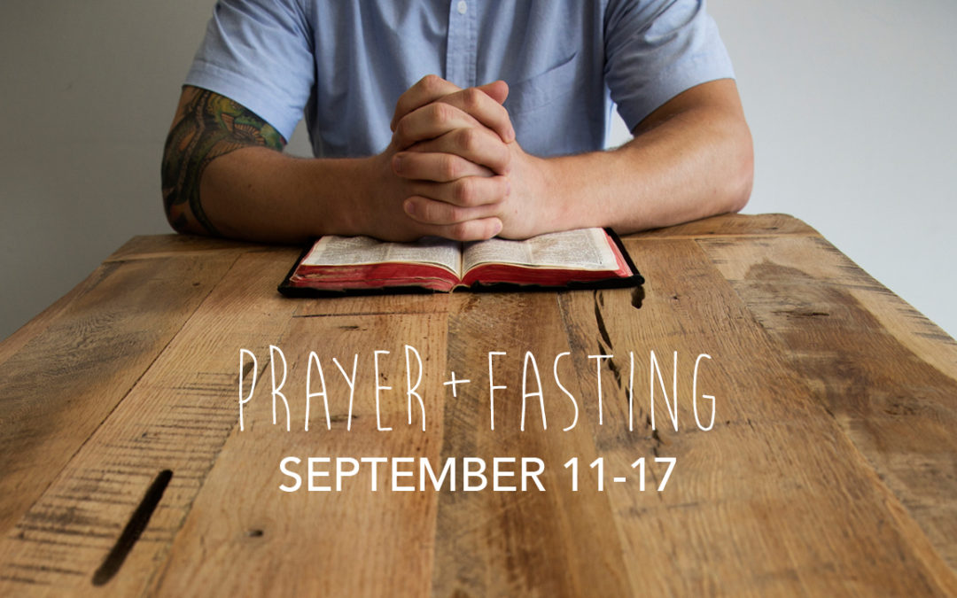 Prayer + Fasting Guide