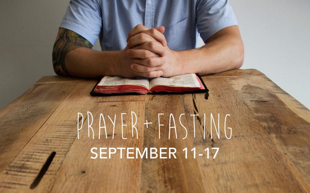 Prayer + Fasting Guide