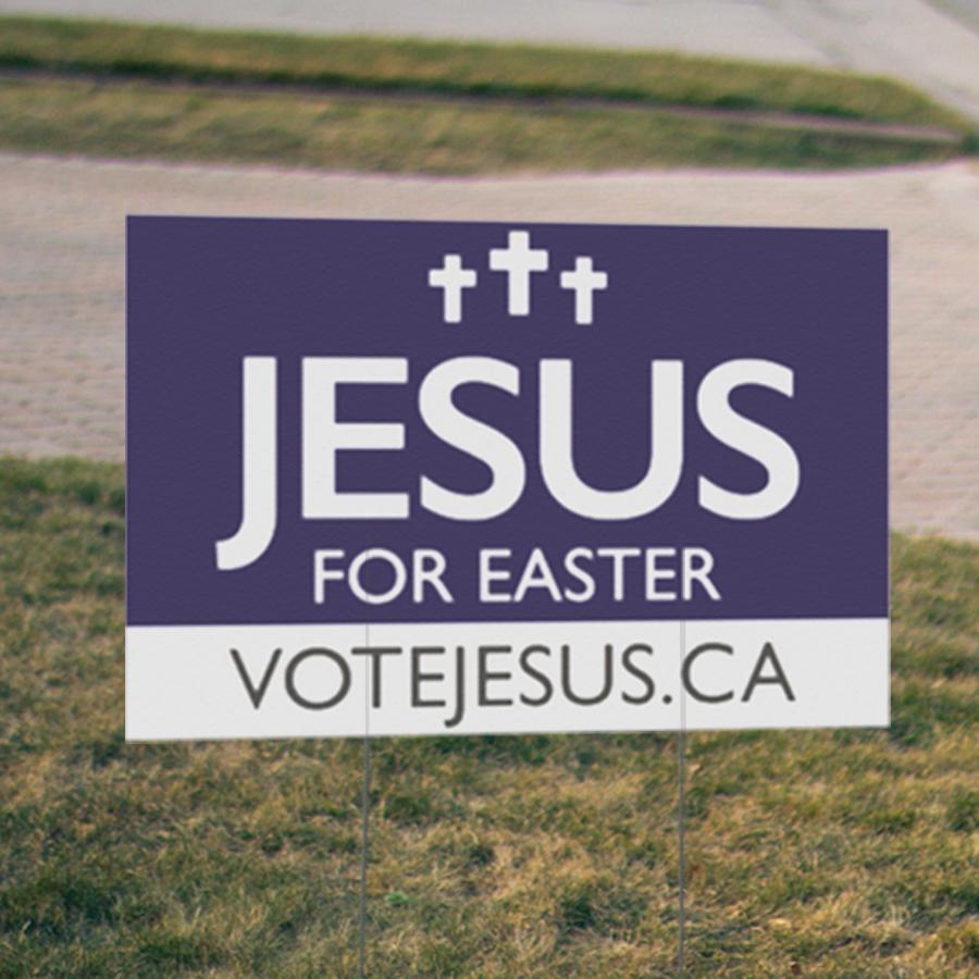 Vote Jesus Image